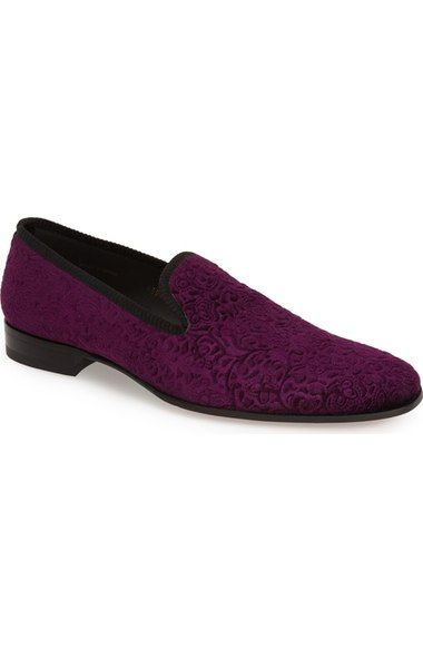 Mezlan 'Desden' Velvet Loafer (Men) available at #Nordstrom