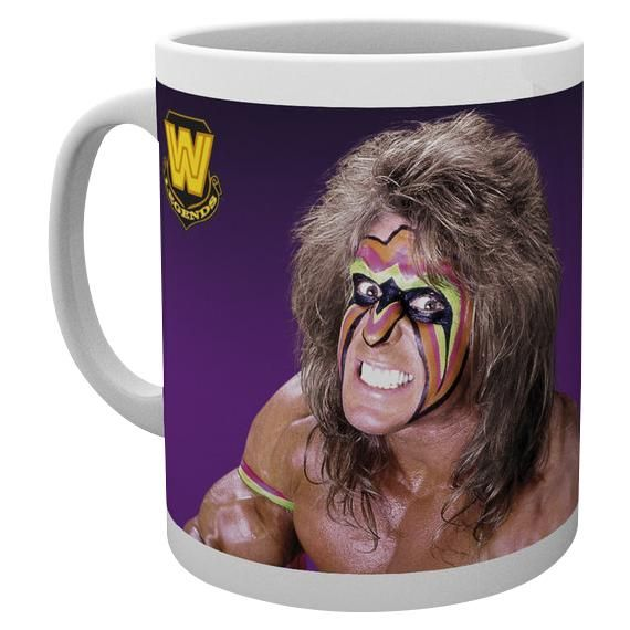 "Tazza in ceramica ""Ultimate Warrior"" del brand #WWE con stampa. Capienza: 0,3 l."