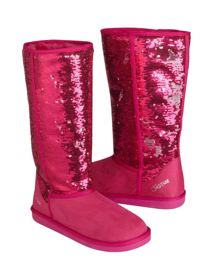 Cute sparkly fake uggs for the winter!