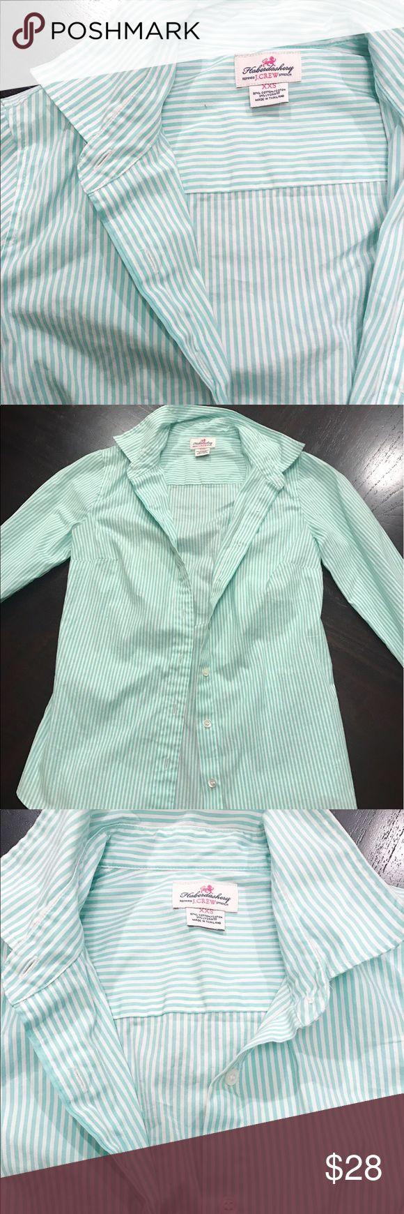 Selling this J.Crew Seersucker Shirt on Poshmark! My username is: optionc. #shopmycloset #poshmark #fashion #shopping #style #forsale #J. Crew #Tops