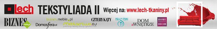 Konkurs TEKSTYLIADA II - zaprojektuj nadruk na tkaninę obiciową i wygraj 5000 złotych! #tekstyliada #lech_modern_fabrics #konkurs #wzór_tkaniny   szczegóły konkursu : http://www.lech-tkaniny.pl/aktualnosci/startuje-ii-edycja-konkursu-tekstyliada/