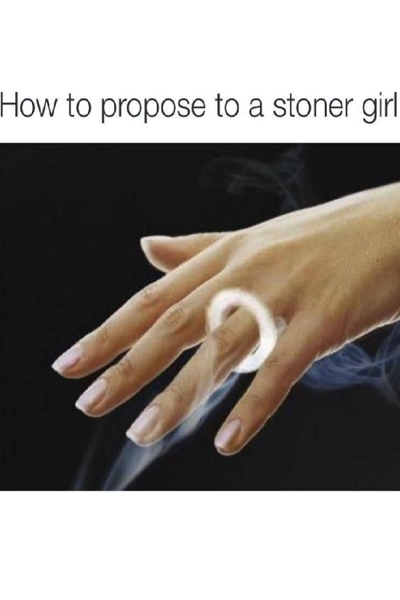 How to Propose to a Stoner Girl From RedEyesOnline.net