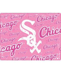 Chicago White Sox - Pink Cap Logo Blast Macbook Pro 13 (2011) Skin