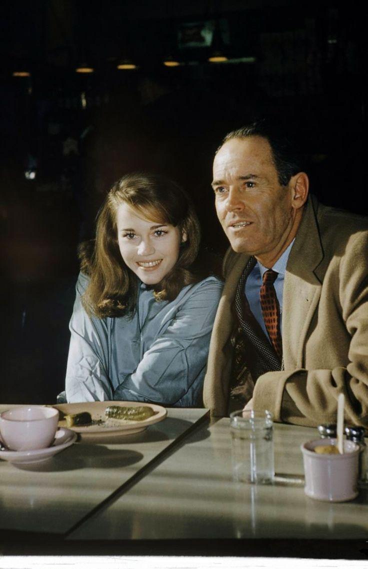 Jane and Henry Fonda