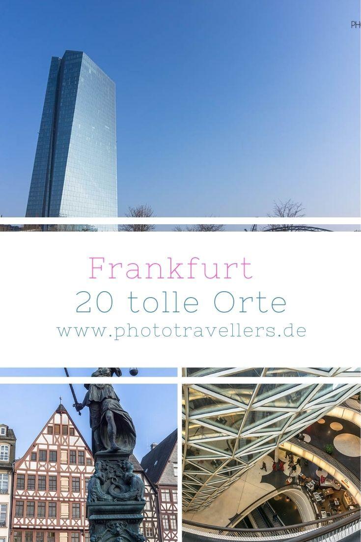 Frankfurt Main Sehenswurdigkeiten 20 Schone Orte Die Du Sehen Musst Mit Karte In 2020 Schone Orte Ausflug Frankfurt