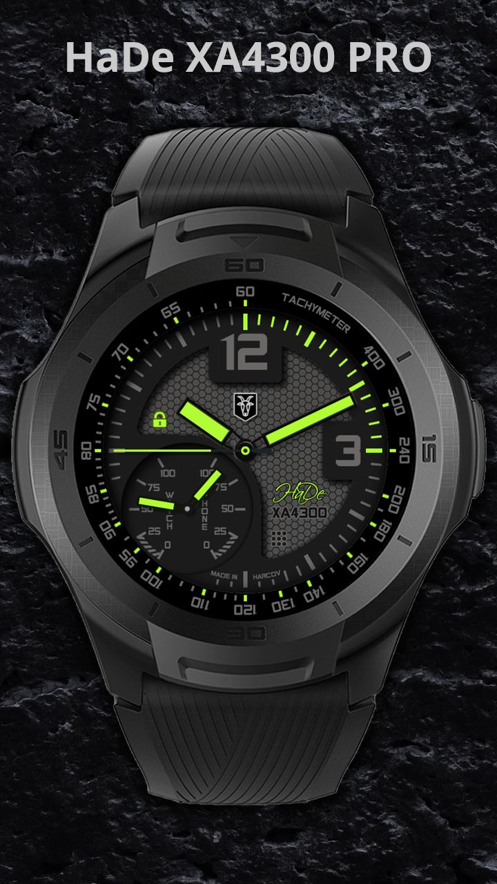 Hade pro xa4300 facer the worlds largest watch face