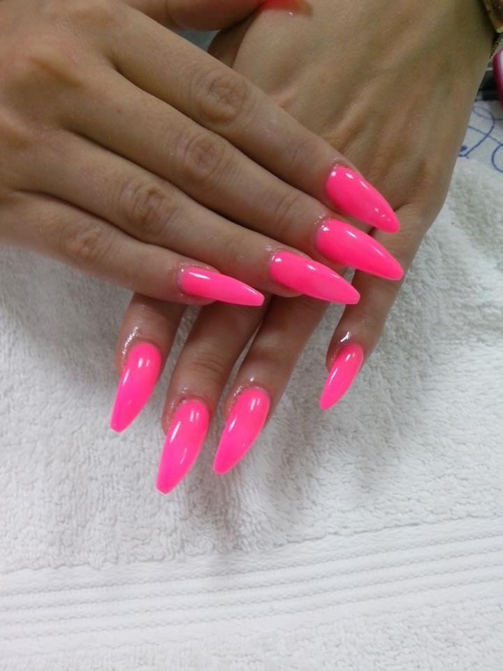 Pink Nails Pink Nails Pretty Nails Vacation Nails