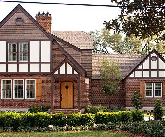 Identified by their steeply pitched rooflines and decorative half-timbering, Tudor-style homes range from elaborate mansions to modest suburban residences. See pictures of Tudor homes and get ideas for your own home here.