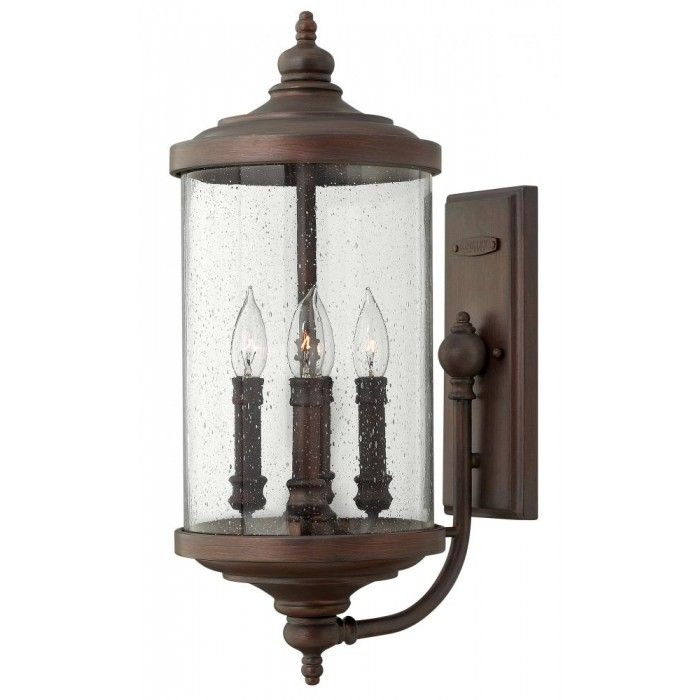 Victorian Bronze Wall Lantern | Montreal Lighting & Hardware