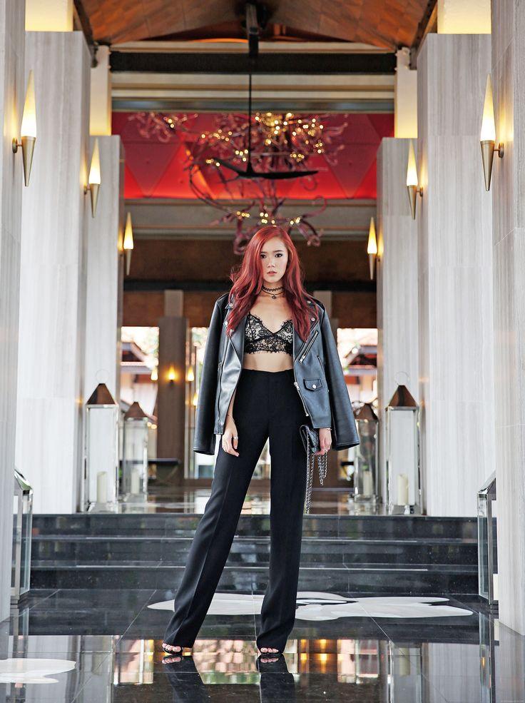 Camille Co in rocker chic fashion - itscamilleco.com