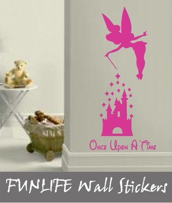 once upon a time: Kids Vinyl, Time Girls, Quotes Vinyls, Fairies Wall, Girls Bedroom, Wall Stickers, Kids Fairies, Bedrooms Wall Quotes, Once Upon A Time