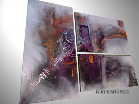 17 best images about tableaux art moderne peinture abstraite on pinterest mauve new york and. Black Bedroom Furniture Sets. Home Design Ideas