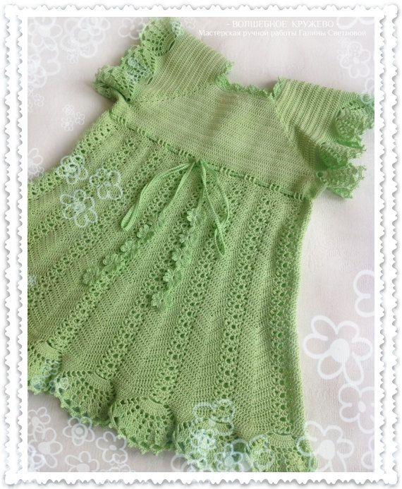 #Hand_crochet_baby_dress_for_girl #summer_dress #lace_dress #child_dress #dress_for_girl #elegant_dress #buy_baby_clothes #baby_clothes #children's_clothing #clothing_for_girls #A_gift_for_a_girl #Buy_dress_for_girl