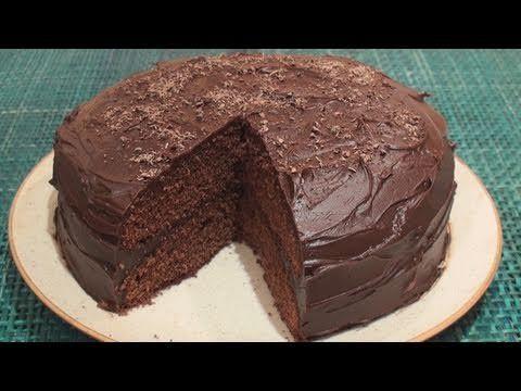 Chokoladekage - Opskrift på lækker svampet chokoladekage