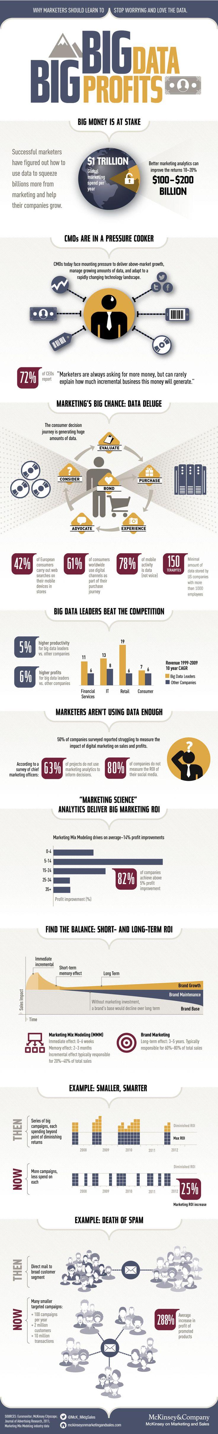 big data big profits infographic