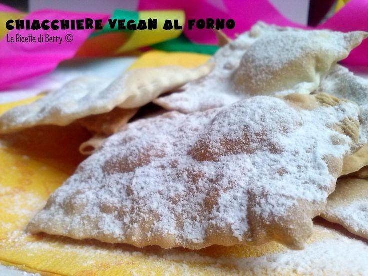 Chiacchiere Vegan al Forno (2)