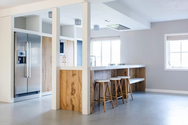Novy Pure'line   JP Walker Houten Keukens - Stedelijk Hout - Hoog ■ Exclusieve woon- en tuin inspiratie.