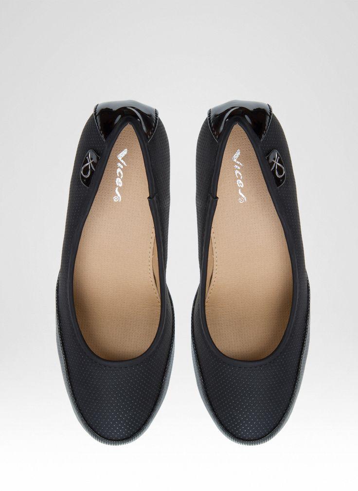 Koturny Czarne Blanka Black Wedges / Koturny / Obuwie damskie - Modne buty, stylowe ubrania i obuwie damskie, sklep z butami i ubraniami, modne buty letnie i zimowe - DeeZee.pl