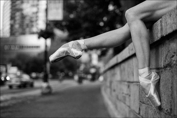 Балерины в городских условиях (29 фото)