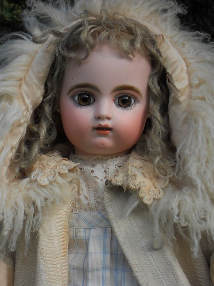 ~~~ Beautiful Large Childlike French Bisque Bebe by Gaultier ~~~