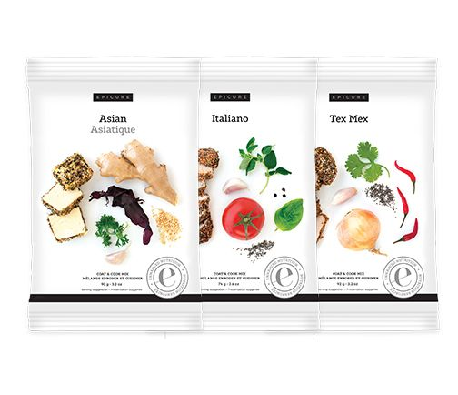 Coat & Cook Variety Pack (pkg of 3)