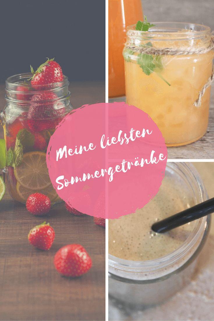 5 gesunde, erfrischende und zuckerfreie Sommergetränke. #getränk #eistee