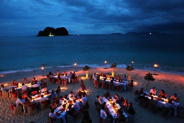 Fiji reception, Vomo Island
