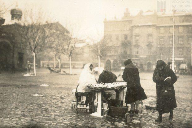 dawne ulice Krakowa, dawne miasta fot. z bloga  historyczno-obyczajowego Agnieszki Lisak