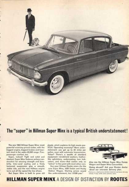 Hillman Super Minx (1963)