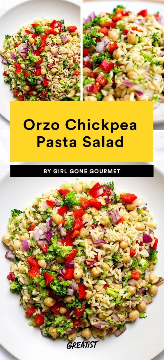 7 Healthy Pasta Salads Because We Swear Warm Weather Is Coming