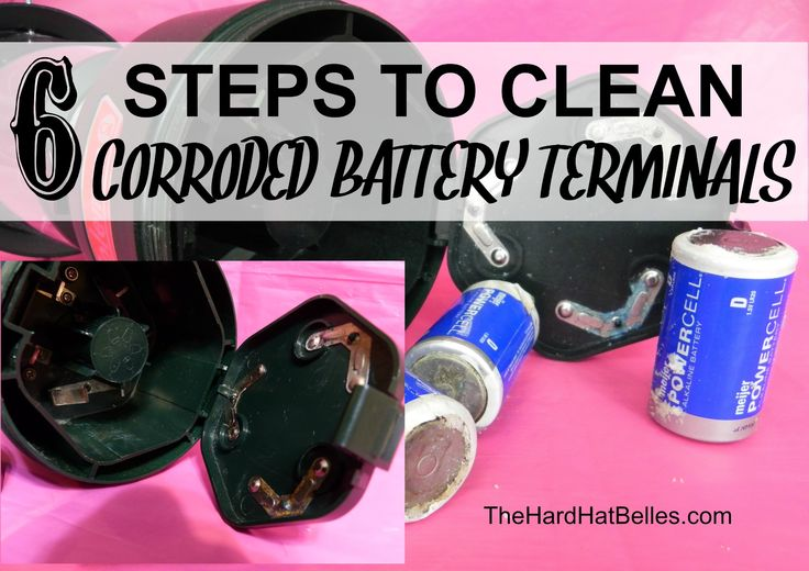 Cleaning Battery terminals Remove Corrosion Quick and