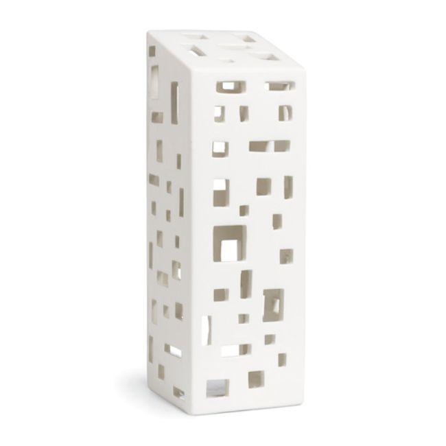 Kähler Keramik ljuslykta Urbania, 22cm - danskdesign.nu