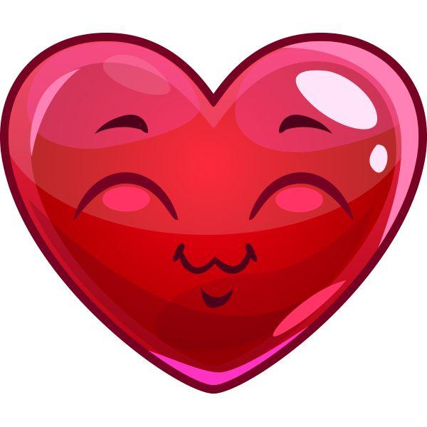 happy heart emoticons