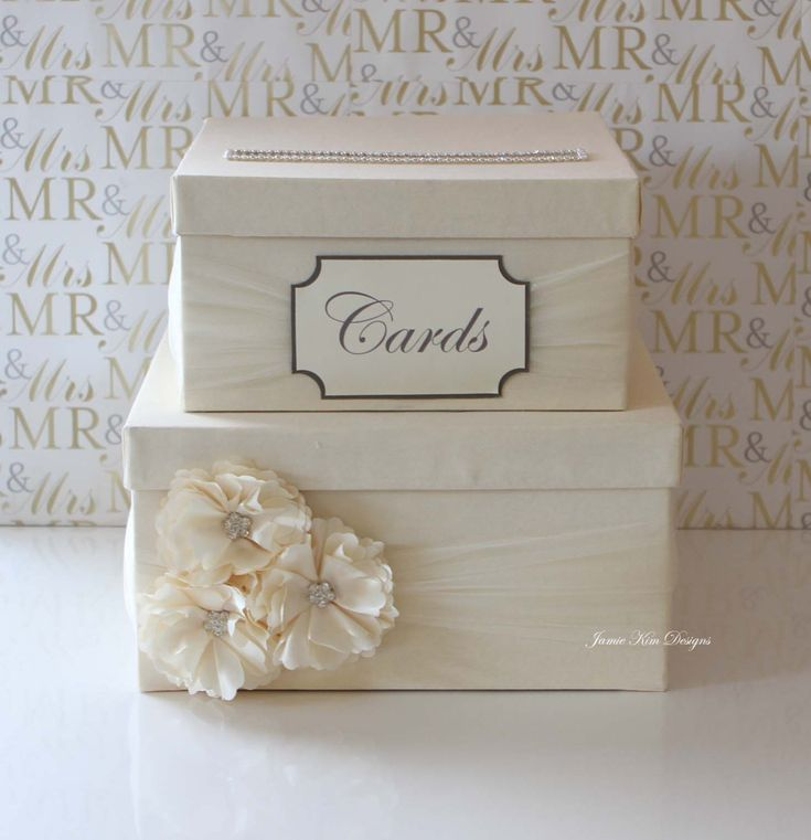 Wedding Card Box Money Box  Custom Made to by jamiekimdesigns, $108.00