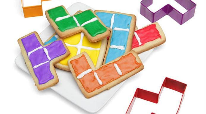 Tetris Cookie Cutters | Cookie cutters