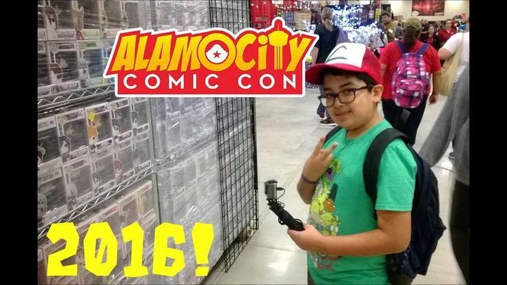 Dblock and Mr Swag go to Alamo City Comic Con 2016