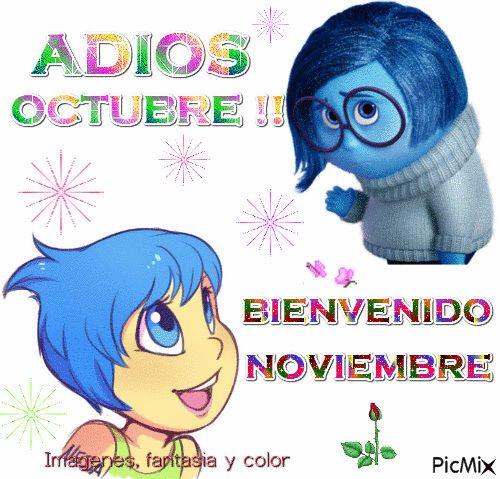 imagenes, fantasia y color: ADIOS OCTUBRE, BIENVENIDO NOVIEMBRE