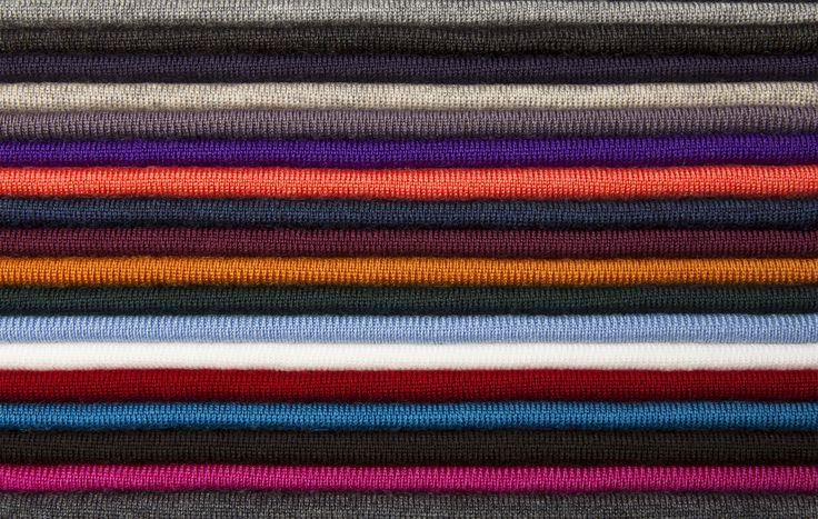 AW13 colours for fine & luxury knitwear www.johnsmedley.com