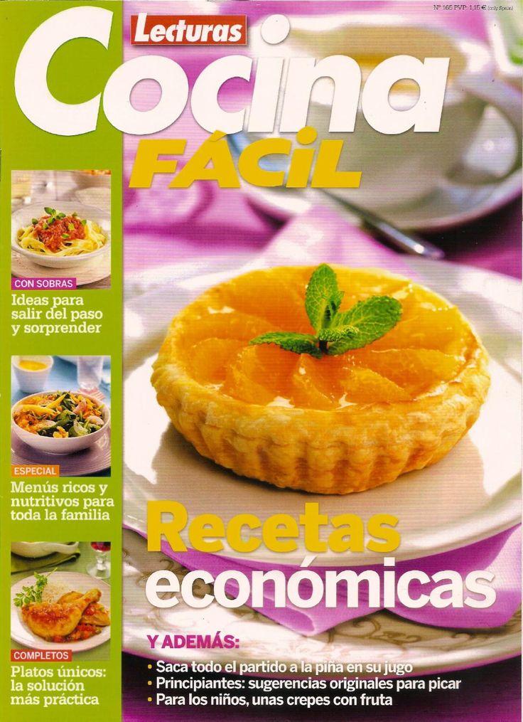 Mejores 85 im genes de libros recetas varias en pinterest - Revista cocina facil lecturas ...