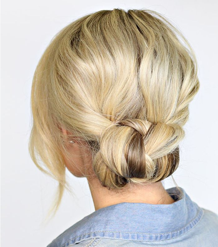 Wedding Hairstyle Simple And Easy: 6 Simple-but-Elegant Updos For The Low-Key Bride