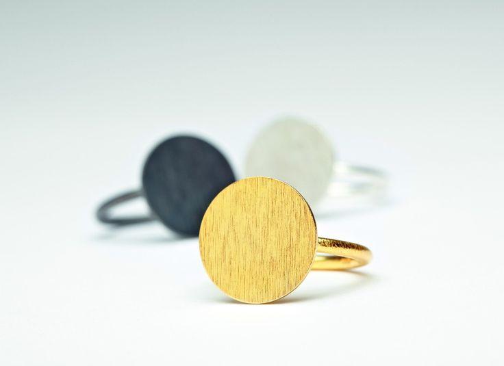 Pernille Corydon maxi coin ring