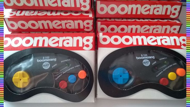Gamepad Boomerang 103 for ATARI XL / XE / ST , C = 64 / 128 , AMIGA -  BRAND NEW