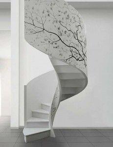 25 Amazing Spiral Stair Design Pics