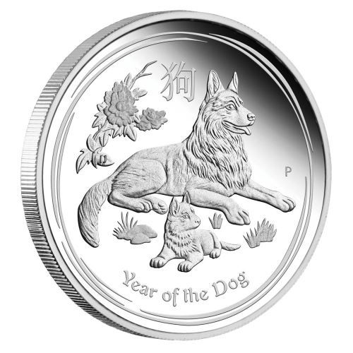 The birth dates for people ruled by the Chinese Lunar dog include 1922, 1934, 1946, 1958, 1970, 1982, 1994, 2006 and 2018 | Australian Lunar Series II 2018 Year Of The Dog Silver Proof Coins