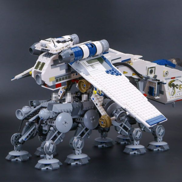 Construction & Building Toys Lego Toys Star Wars Series 1788PCS The Drop-Ship Republic With AT-OT Walker