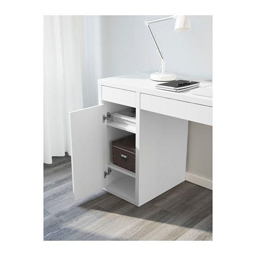 МИККЕ Письменный стол - белый - IKEA