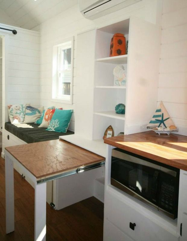 6 Tiny-House Storage Tricks to Steal - GoodHousekeeping.com | Tiny Homes