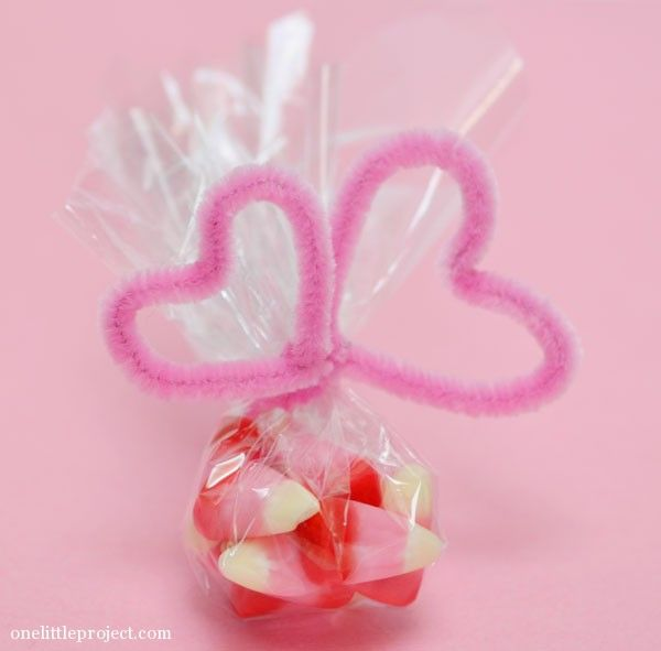 Easy Valentine's Day Candy Crafts