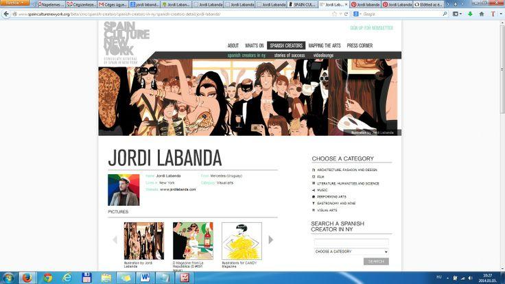 fejlécként használva a honlapon - Spain Culture in New York