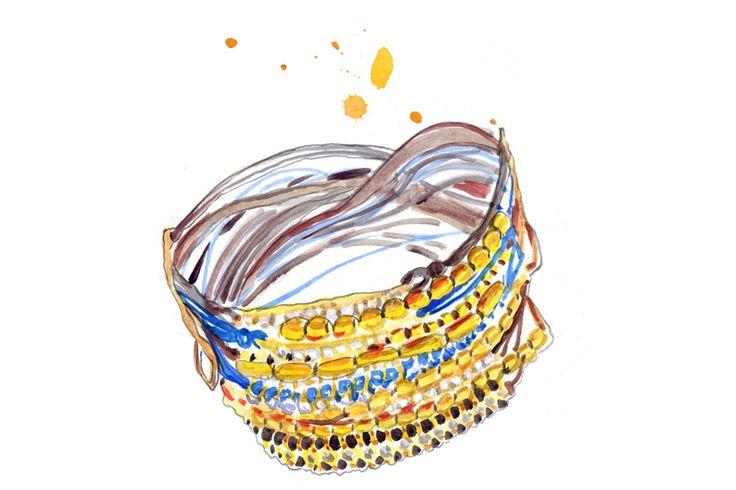Mykonos: Travel Guide, Bracelet by Apriati Jewels #GreeceVacation #GreekIslands #Apriati #Jewels #travelillustration #Cyclades #illustration #IrinaIllustration #IrinaSibileva #Mykonos #IrinaSibilevaIllustration #MykonosStyle #travelillustrator #lifewelltravelled #ApriatiJewels #Mykonos #GreekIslands #beautifulislands #CondéNastTraveller #Mykonosguide #travelblog #travelblogger #travelcolorfully #dametraveler #passionpassport #tasteintravel #traveldeeper #lifestyleguide #summervacation